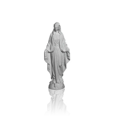 Our Lady of Grace Mini Marble Statues