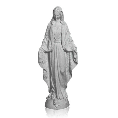 Our Lady of Grace Small Marble Statues