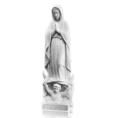 Our Lady of Guadalupe Large Marble Statues