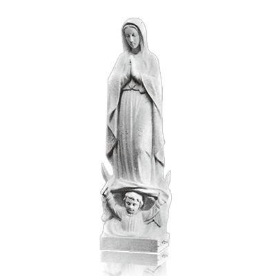 Our Lady of Guadalupe Small Marble Statues