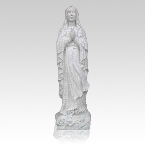 Our Lady of Lourdes Granite Statue