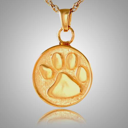 Pet Paw Cremation Pendant II