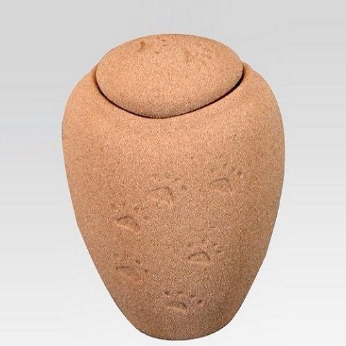 Paw Print  Sand Medium Biodegradable Urn