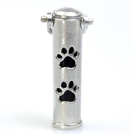 Paws Pet Cremation Keychain Urn
