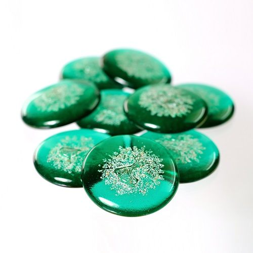 Peace Green Cremation Touchstones