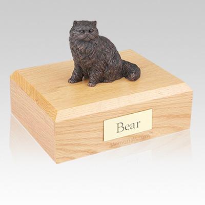Persian Bronze Cat Cremation Urns