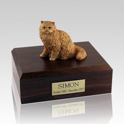 Persian Orange Large Cat Cremation Urn