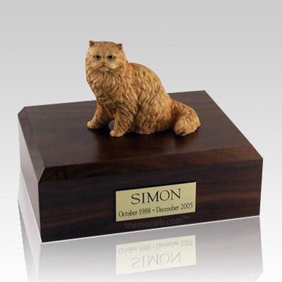 Persian Orange X Large Cat Cremation Urn