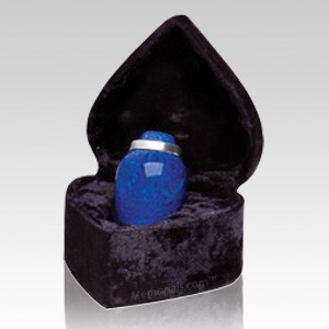 Pet Cobalt Small Cremation Urn