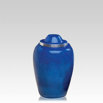 Pet Cobalt Medium Cremation Urn