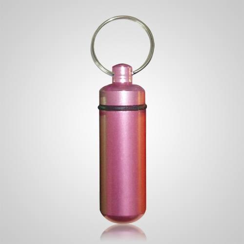 Pink Pet Keepsake Keychain