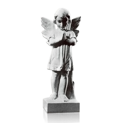 Prayer Angel Small Marble Statues