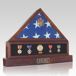 Presidential Combination Flag Display Case