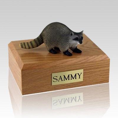 Raccoon X Large Cremation Urn
