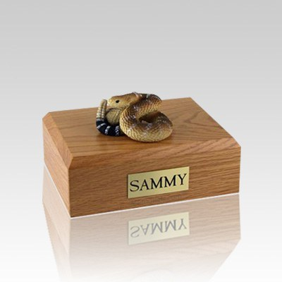 Rattlesnake Small Cremation Urn