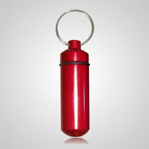Red Cremation Keychain
