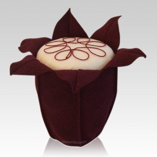 Red Wine Tulip Cremation Urn