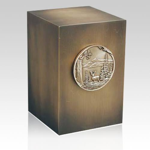Relic Wildwood Bronze Urn