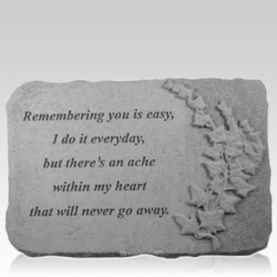 Remembering Ivy Memorial Stone