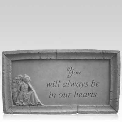 Remembrance Angel Stone