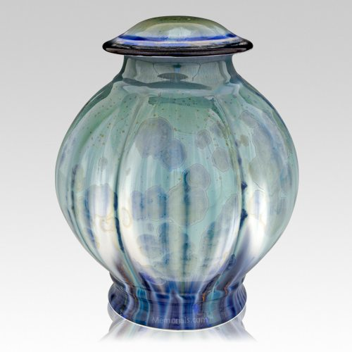 Bahama Blue Cremation Urn