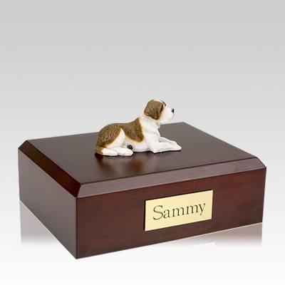 Saint Bernard Large Dog Urn