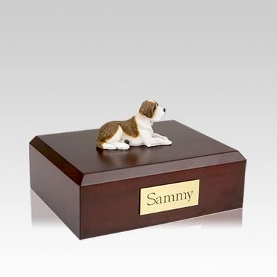 Saint Bernard Medium Dog Urn