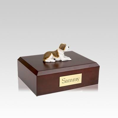 Saint Bernard Small Dog Urn