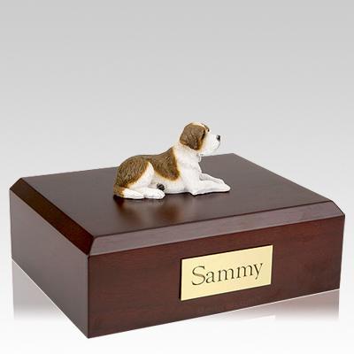 Saint Bernard X Large Dog Urn