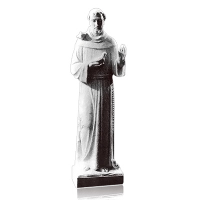 Saint Francis of Assisi Large Marble Statues