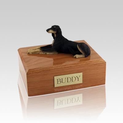 Saluki Laying Medium Dog Urn