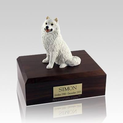 Samoyed Large Dog Urn