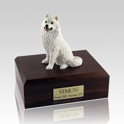 Samoyed X Large Dog Urn