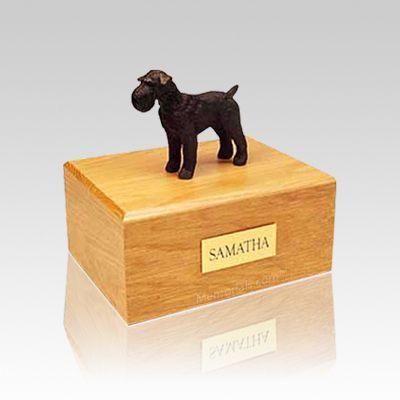 Schnauzer Black Small Dog Urn