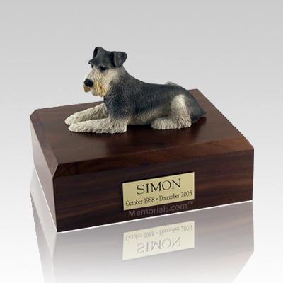 Schnauzer X Large Dog Urn