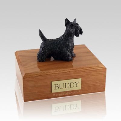 Scottish Terrier Standing Large Dog Urn