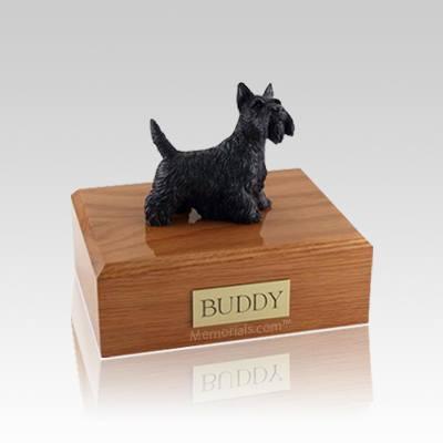 Scottish Terrier Standing Small Dog Urn