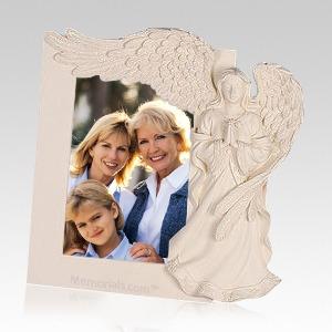 Serene Angel Picture Frame