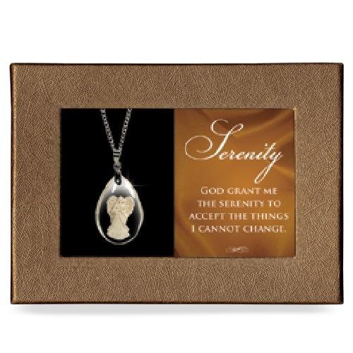 Serenity Gift Boxed Angel Pendant
