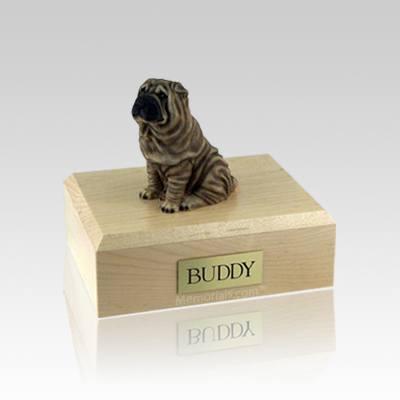 Shar Pei Small Dog Urn