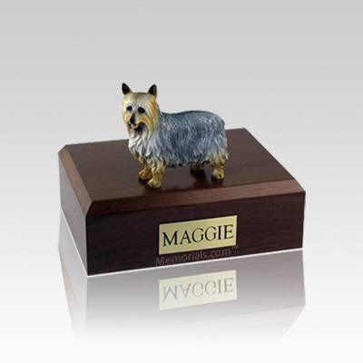 Silky Terrier Small Dog Urn