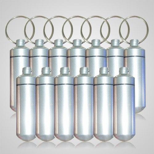 Silver Cremation Discount Keychains