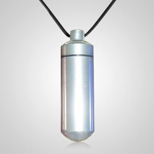 Silver Cremation Pendant