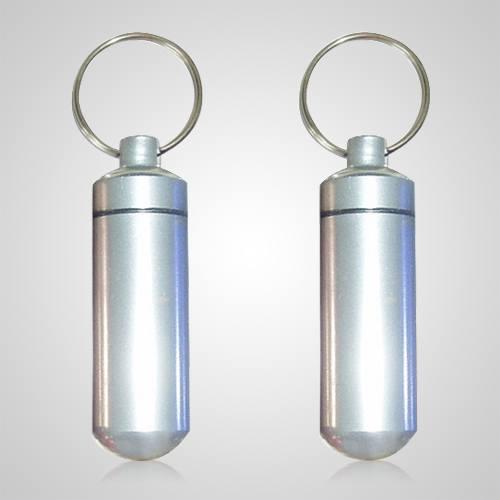 Silver Pet Keepsake Keychains