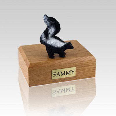 Skunk Small Cremation Urn