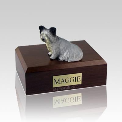 Skye Terrier Large Dog Urn