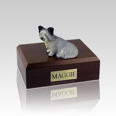 Skye Terrier Medium Dog Urn