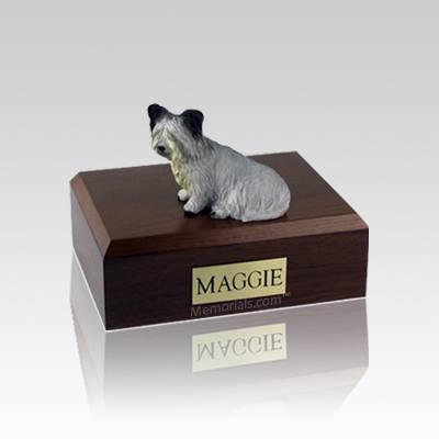 Skye Terrier Small Dog Urn