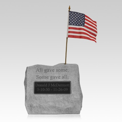 Some Gave All Memory Stone
