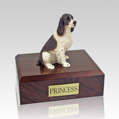 Springer Spaniel Liver & White X Large Dog Urn
